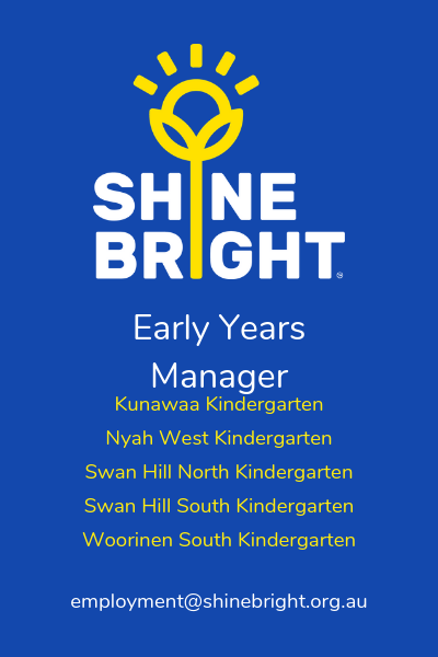 Shine Bright Early Years Manager